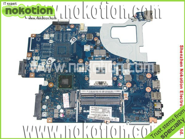 NOKOTION Q5WVH LA-7912P laptop anakart acer V3-571 Intel NBY1111001 NB. Y1111.001 Anakart DDR3